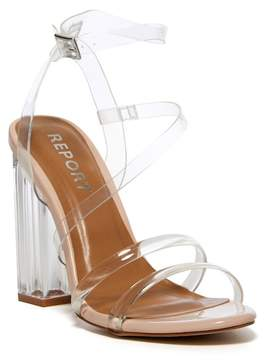 Report Falcon Transparent Block Heel Sandal
