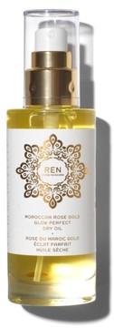 REN Space.nk.apothecary Moroccan Rose Gold Glow Perfect Dry Oil