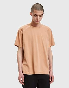Our Legacy New Box T-Shirt in Peach Pink Clean Jersey