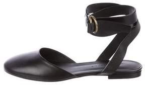 Jenni Kayne Leather Ankle Strap Flats