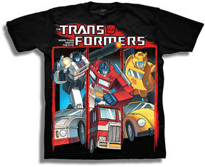 Freeze Transformers Short Sleeve Tees Transformers Graphic T-Shirt-Preschool Boys