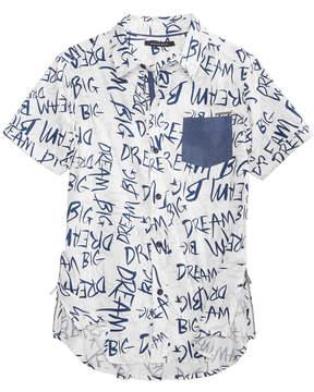 Sean John Printed Shirt, Big Boys (8-20)