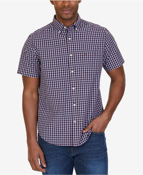 Nautica Men's Riviera Plaid Pocket Shirt