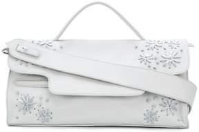 Zanellato embroidered flower shoulder bag