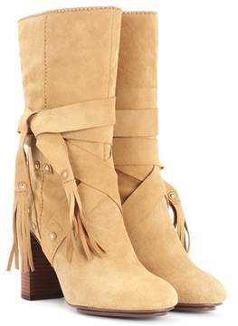 See by Chloe Suede ankle boots