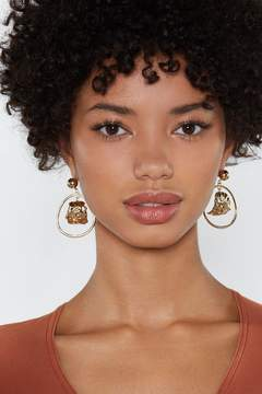 Nasty Gal Leaf It At That Earrings