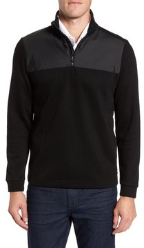 BOSS Men's C-Piceno Quarter Zip Fleece Pullover