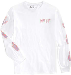 Neff Men's Long-Sleeve Graphic-Print T-Shirt