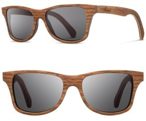 Shwood Men's 'Canby' 54Mm Wood Sunglasses - Walnut