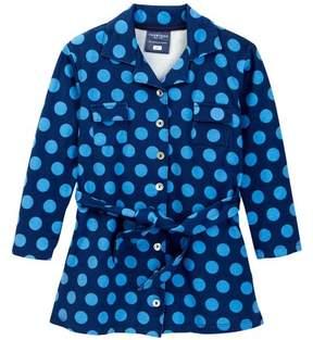 Toobydoo Polkadot Shirt Dress (Toddler, Little Girls, & Big Girls)