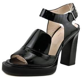 Carven 960sc141 Open Toe Patent Leather Sandals.