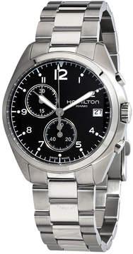 Hamilton Khaki Pilot Pioneer Chronograph Black Dial Men's Watch