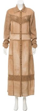 Escada Wool And Mohair-Blend Coat
