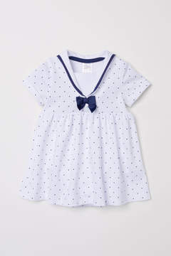 H&M Sailor Dress - White