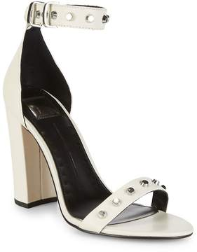 Dolce Vita Women's Hazella Metallic Anke-Strap Heeled Sandals