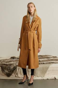 Genuine People Oversized Lightweight Trench Coat