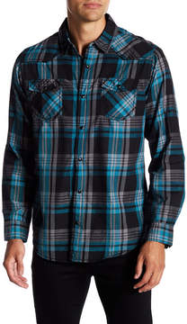 Burnside Plaid Long Sleeve Regular Fit Shirt