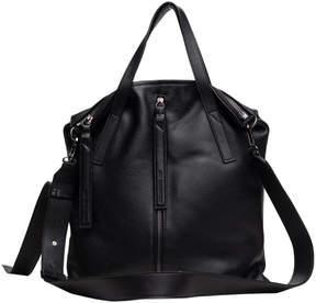 Christopher Kon Black Vesta Leather Satchel