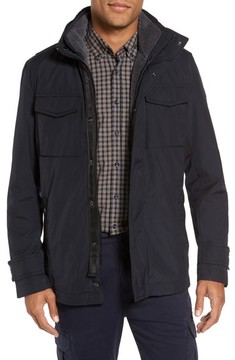 BOSS ORANGE Men's Onick Water Repellent 3-In-1 Field Jacket