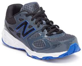 New Balance Perforated Tech Aide 680 V3 Sneaker - Wide Width Available (Little Kid & Big Kid)