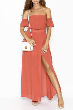 Cotton Candy Malibu Off Shoulder Dress