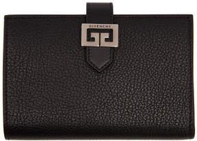 Givenchy Black Medium GV3 Wallet
