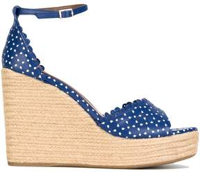 Tabitha Simmons 'Harp' wedge sandals