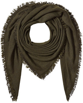 Faliero Sarti Printed Scarf with Virgin Wool, Cashmere and Silk