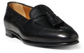 Ralph Lauren Quillis Calfskin Loafer Black 37.5