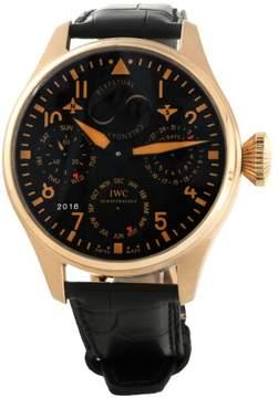 IWC Big Pilot Perpetual Calendar IW5026-35 18K Rose Gold Mens Watch