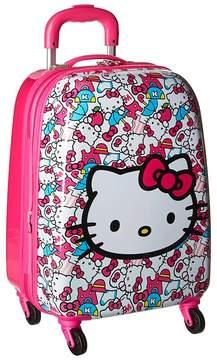 Hello Kitty Heys America Tween Spinner Luggage Luggage