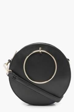 boohoo Molly Ring Detail Round Bag
