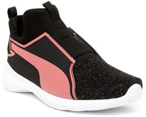 PUMA Rebel Mid Cleam PS Sneaker (Little Kid)