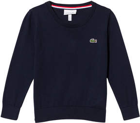 Lacoste Navy Small Logo Sweater