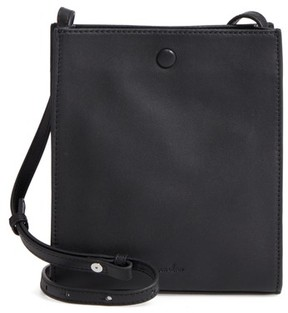 Steven Alan Camden Leather Crossbody Bag - Black
