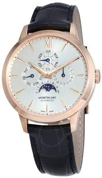 Montblanc Heritage Automatic Silver Dial Men's Watch