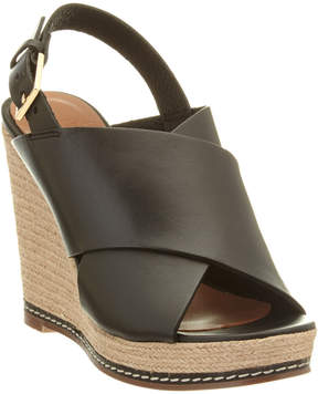 Andre Assous Cora Leather Wedge Sandal
