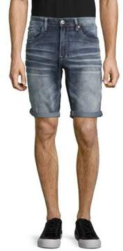 Buffalo David Bitton Whiskered Five-Pocket Shorts