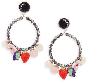 Natasha Women's Shaky Fruit Drop Earrings