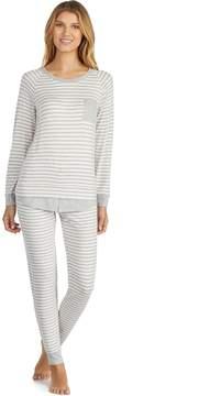 Cuddl Duds Women's Graphic Jogger Pajama Set