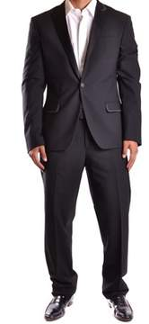Dirk Bikkembergs Men's Black Wool Suit.
