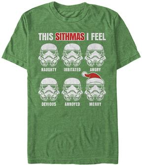 Fifth Sun Star Wars Kelly Heather Sithmas Feelings Tee - Men's Regular