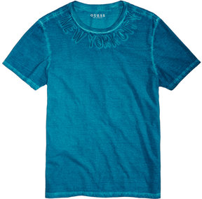 GUESS Men's New York City Embroidered T-Shirt
