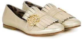 Roberto Cavalli fringed loafers
