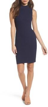 Adelyn Rae Women's Mock Neck Sweater Dress
