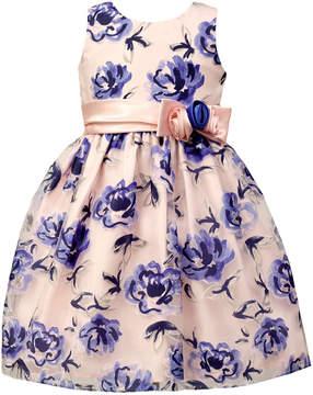 Jayne Copeland Floral Burnout Ball Gown, Little Girls (4-6X)