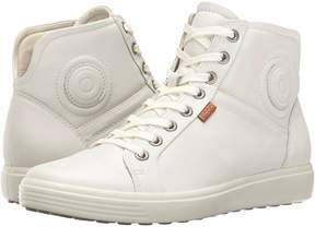 Ecco Soft VII High Top Women's Lace up casual Shoes