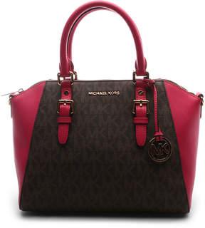 Michael Kors Ultra Pink & Brown Ciara Crossbody Bag - ULTRA - STYLE
