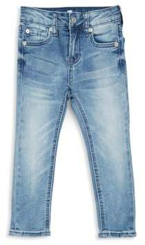 7 For All Mankind Little Girl's Five-Pocket Jeans