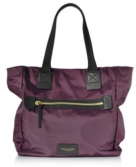 Marc Jacobs Women's Purple Polyamide Tote. - PURPLE - STYLE